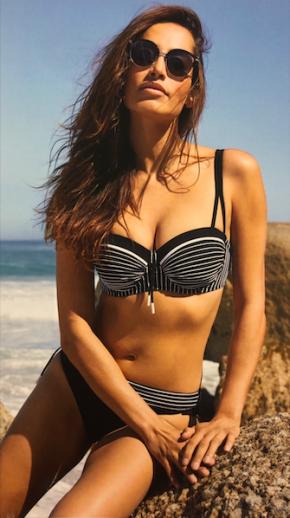 Bikini Lidea Noir et Blanc