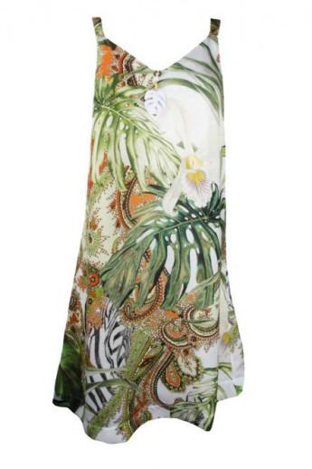 Robe plage féerie tropicale Lise Charmel