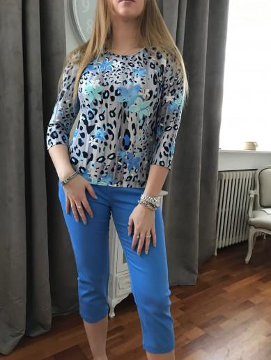 Pantacourt bleu  montana