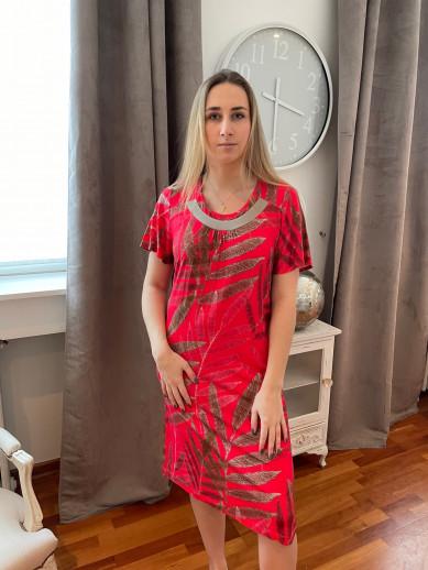 Robe rouge Egatex