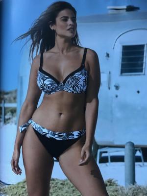 Bikini lidéa noir et blanc