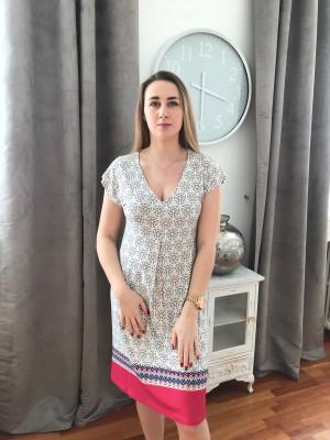 Robe imprimée canat