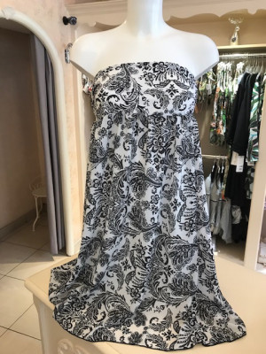 Robe jupe Bandana noir Antigel