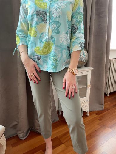 Pantalon élastiqué taille magic shape kaki montana