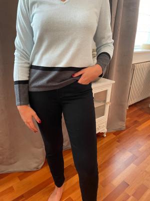 Pantalon elastique taille noir Montana