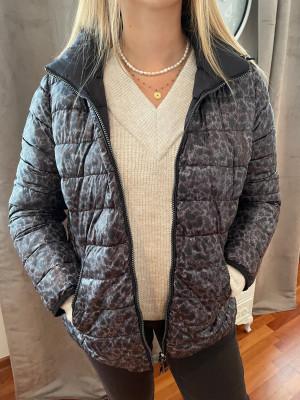 veste imprimée avec capuche Lebek