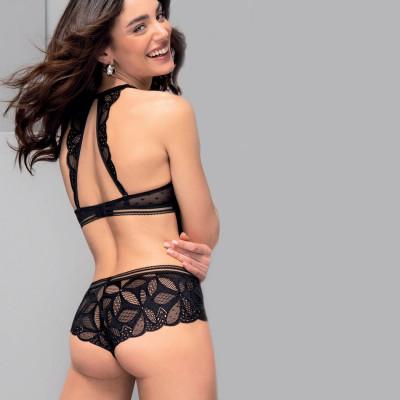 Shorty stricto sensuelle noir antigel
