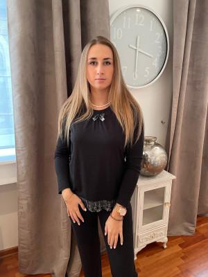 Pyjama noir Egatex