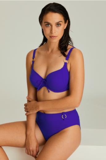 Bikini Prima Donna Swim Sahara Bleu Electrique emboîtant avec armatures