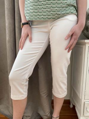 pantacourt blanc