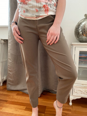 Pantalon expresso élastiqué taille magic shape