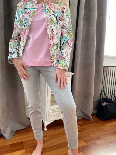 Montanna skinny fit gris