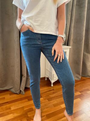 Jeans stretch élastiqué taille